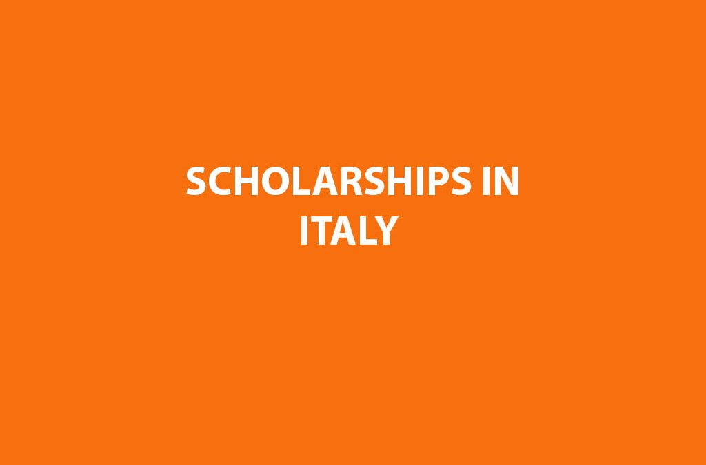 Scholarships In ITALY