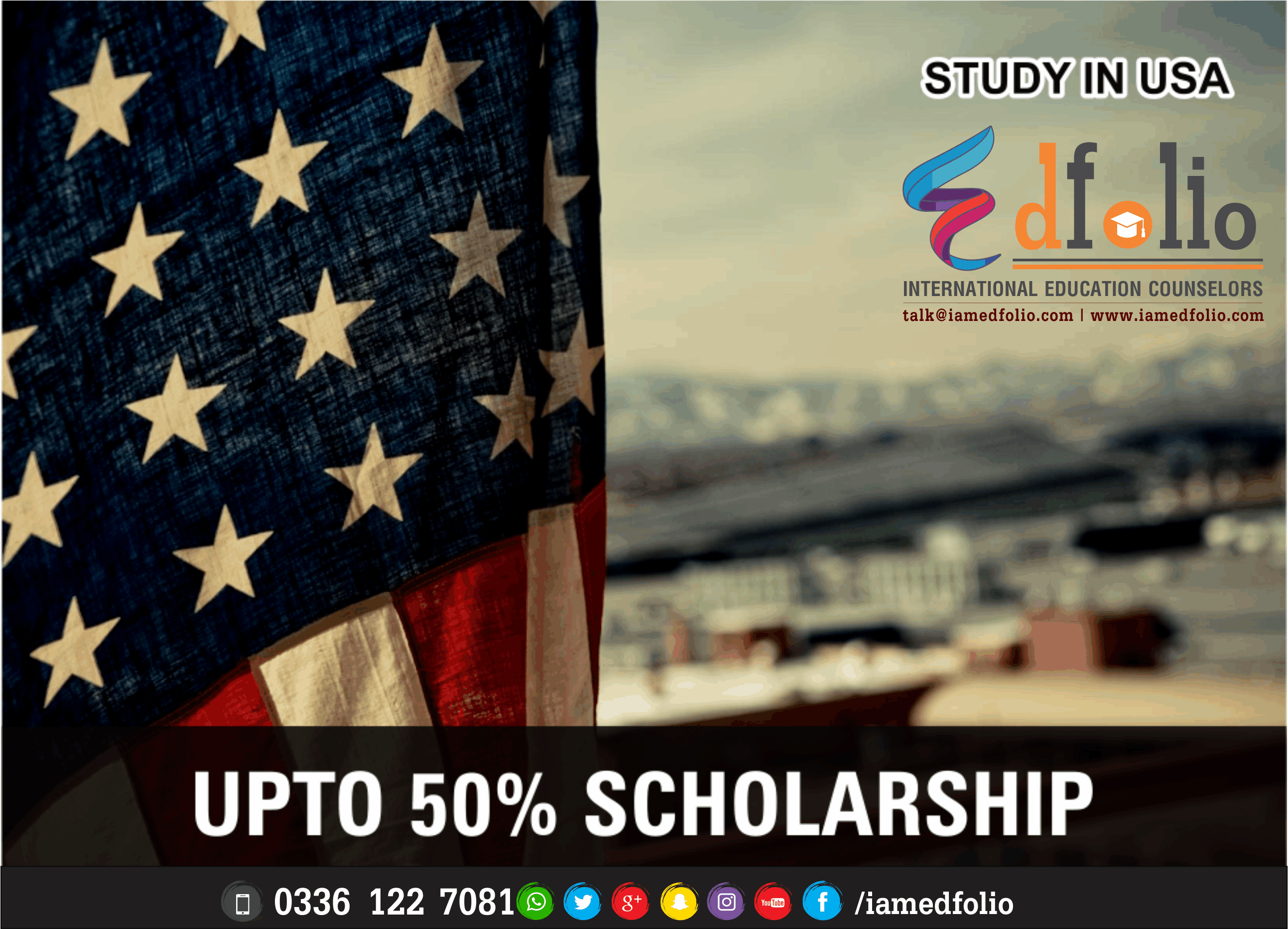SCHOLARSHIPS IN USA - EdFolio International Education Consultant and Counselors