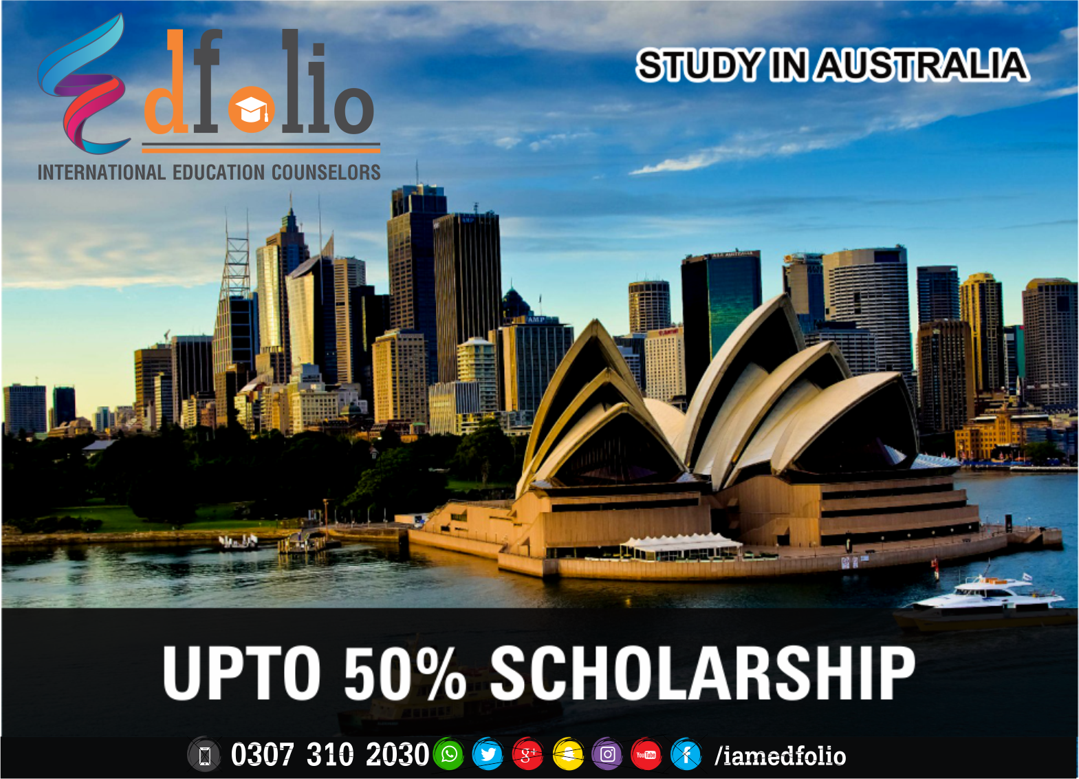 SCHOLARSHIPS IN AUSTRALIA - EdFolio International Education Consultant and Counselors