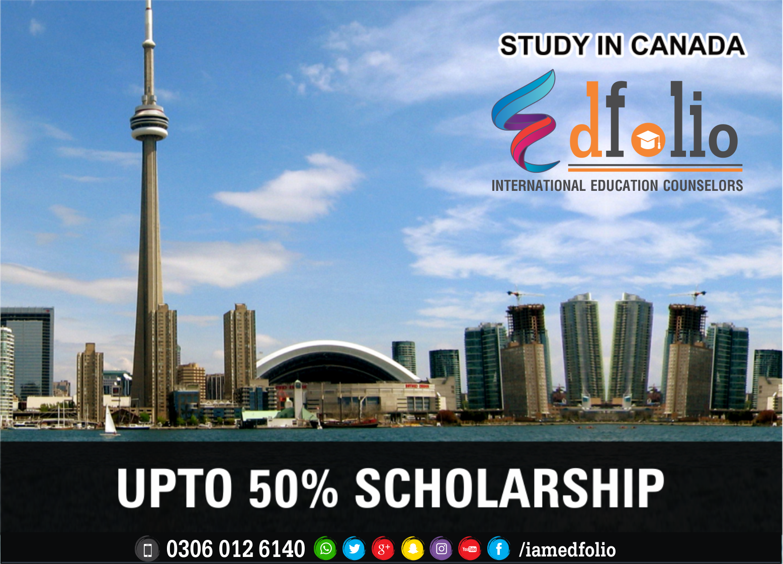 SCHOLARSHIPS IN CANADA - EdFolio International Education Consultant and Counselors