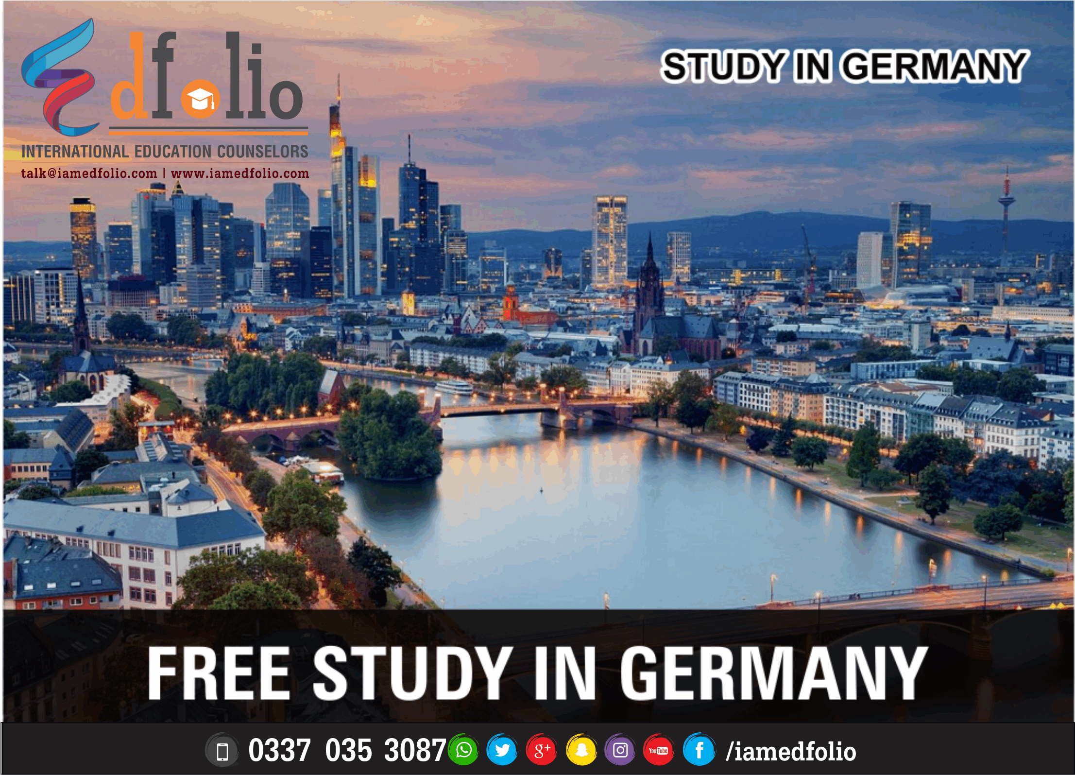 SCHOLARSHIPS IN GERMANY - EdFolio International Education Consultant and Counselors