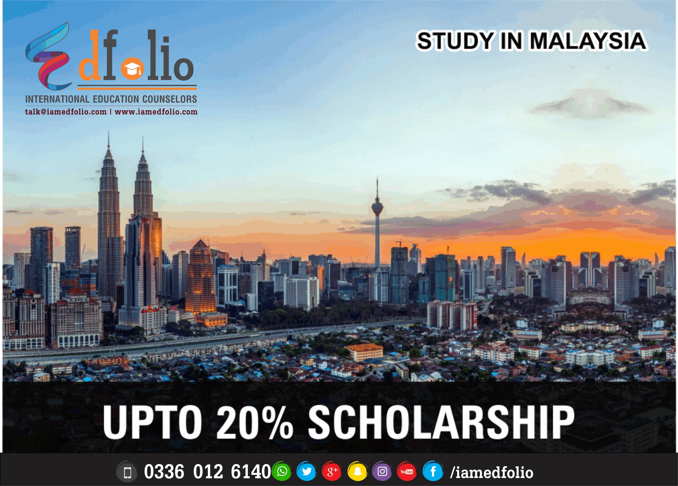 SCHOLARSHIPS IN MALAYSIA - EdFolio International Education Consultant and Counselors