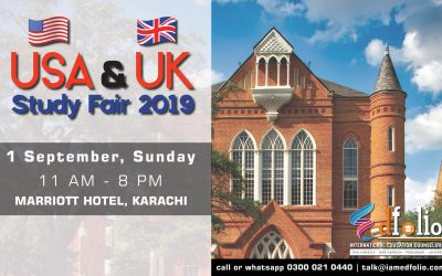 USA & Uk Universities Fair 2019
