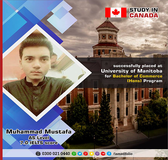 Get Admission in University of Manitoba,Canada by EdFolio International Education Counselors